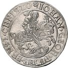 1 Thaler - Johann Georg I., Peter Ernst I. and Christoph II. – avers