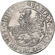 1 Thaler - Johann Georg I., Peter Ernst I. and Christoph II. – avers
