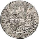 1 Thaler - Johann Georg I., Peter Ernst I. and Christoph II. – revers
