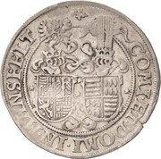 ¼ Thaler - Johann Georg I., Christoph II. and Johann Ernst – revers