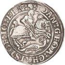 1 Thaler - Johann Georg I., Christoph II. and Johann Ernst – avers
