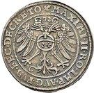 1 Thaler - Peter Ernst I., Christoph II. and Johann Hoyer III. – revers