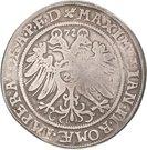 1 Thaler - Johann Georg I., Christoph II. and Johann Ernst – revers