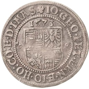 ¼ Thaler - Johann Georg I., Peter Ernst I. and Johann Hoyer III. – revers