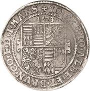 1 Thaler - Johann Georg I., Johann Albrecht und Bruno II. – avers