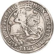 1 Thaler - Johann Georg I., Johann Albrecht und Bruno II. – revers