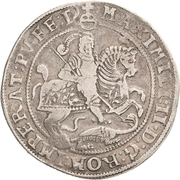 1 Thaler - Johann Georg I., Peter Ernst I. and Johann Hoyer III. – revers