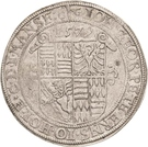 1 Thaler - Johann Georg I., Peter Ernst and Christoph II. – avers