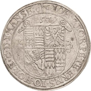 1 Thaler - Johann Georg I., Peter Ernst and Christoph II. – avers