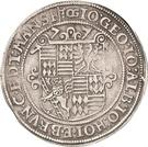 1 Thaler - Johann Georg I., Johan Albrecht, Johann Hoyer III. and Bruno II. – avers