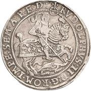 1 Thaler - Johann Georg I., Johan Albrecht, Johann Hoyer III. and Bruno II. – revers