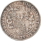 1 Thaler - Johann Georg I., Peter Ernst I., Johann Albrecht, Johann Hoyer III. and Bruno II. – avers