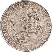 1 Thaler - Johann Georg I., Peter Ernst I., Johann Albrecht, Johann Hoyer III. and Bruno II. – revers