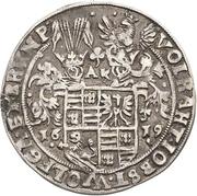 ¼ Thaler - Volrat VI., Jobst II., Wolfgang III. and Bruno III. (Death) – avers