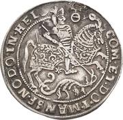 ¼ Thaler - Volrat VI., Jobst II., Wolfgang III. and Bruno III. (Death) – revers