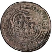 1 groschen Gunther IV, Gebhart VI, Volrat II – revers