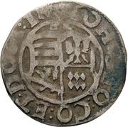 1 Groschen - Johann Georg II. – avers