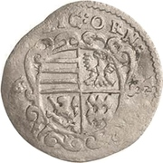 1 Dreier - Johann Georg II. – avers