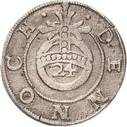 1 Groschen - Johann Georg II. (Sterbegroschen; Death) – revers