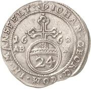 1 Groschen - Johann Georg III. – avers