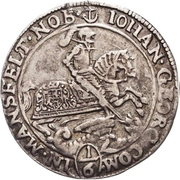 ⅙ Thaler - Johann Georg III. – avers