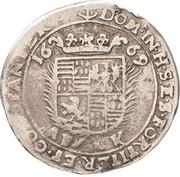 ⅙ Thaler - Johann Georg III. – revers