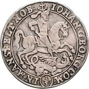 ⅓ Thaler - Johann Georg III. – avers