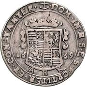 ⅓ Thaler - Johann Georg III. – revers