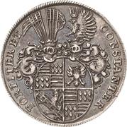 ¼ Thaler - Johann Georg III. (Death) – revers