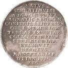 ½ Thaler - Johann Georg III. (Death) – revers