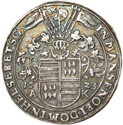 1 Thaler - Friedrich Christoph & David – revers