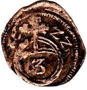 3 pfennig David & Friedrich Christoph – revers