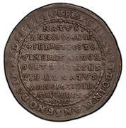 1 thaler Friedrich Christoph – avers