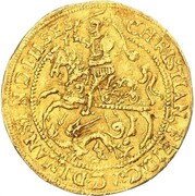 1 ducat Christian Friedrich – avers
