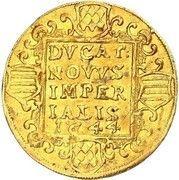 1 ducat Christian Friedrich – revers