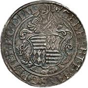 1 Thaler - Gebhard VII., Joh. Georg I. & Peter Ernst I – avers