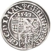 1 Spitzgroschen - Gebhard VII & Johann Georg I – avers