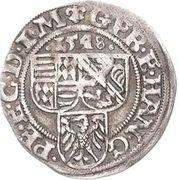 1 Spitzgroschen - Gebhard VII, Johann Georg I & Peter Ernst I – avers