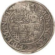 1 Thaler - Gebhard VII, Johann Georg I & Peter Ernst I – revers