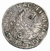 ½ Thaler - Gebhard VII, Johann Georg I & Peter Ernst I – avers