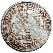 ½ Thaler - Christoph II, Johann Albrecht I & Bruno II – avers