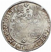 ½ Thaler - Christoph II, Johann Albrecht I & Bruno II – revers
