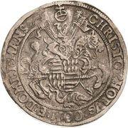 1 Thaler - Christoph II – avers