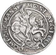 ½ Thaler - Gebhard VII., Albrecht VII., Philipp II. and Johann Georg I. – revers
