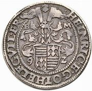 ½ Thaler - Heinrich II & Gotthelf Wilhelm I – avers