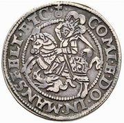 ½ Thaler - Heinrich II & Gotthelf Wilhelm I – revers