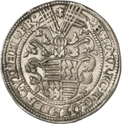 1 Thaler - Heinrich II. and Gotthelf Wilhelm – avers