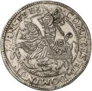 1 Thaler - Heinrich II. and Gotthelf Wilhelm – revers