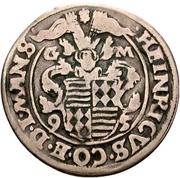 ¼ Thaler - Heinrich II. – avers