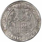 1 Thaler - Gebhard VII, Albrecht VII, Philipp II & Johann Georg I – avers